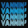 VANNIN T Shirt Retro Vanner Vanning Nation Van Lifestyle