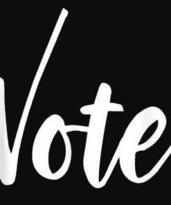 VOTE Political Election November Check Mark Tshirt