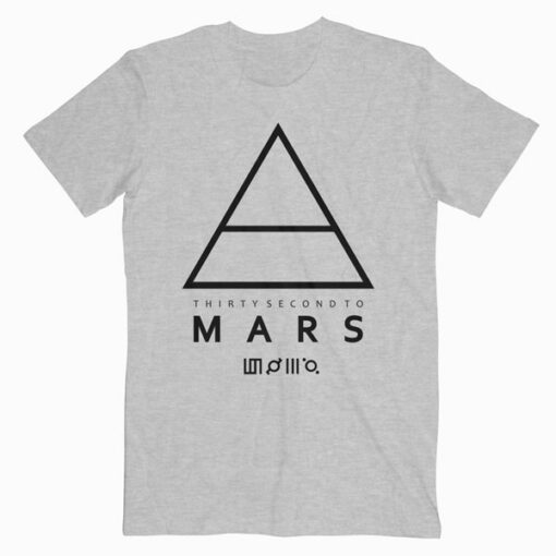 30 Second To Mars Logo Band T Shirt