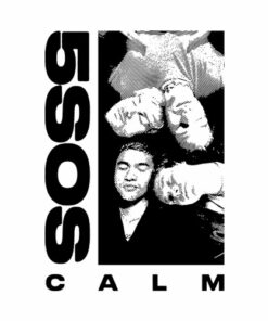 5 Seconds of Summer White CALM Band T Shirt