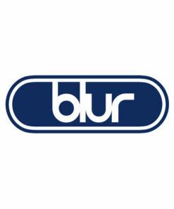 Blur Logo Ellipse Band T Shirt
