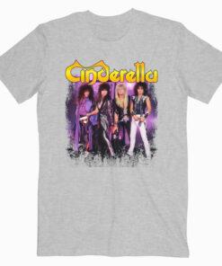 Cinderella Men's Graphic Rock & Roll Band T-Shirt