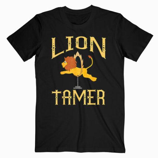 Circus Lion Tamer Shirt Lion Tamer Costume T Shirt