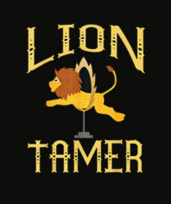 Circus Lion Tamer Shirt Lion Tamer Costume T Shirt