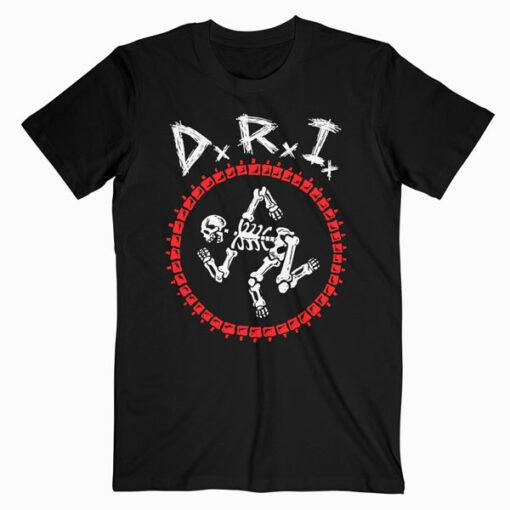 DRI Dirty Rotten Imbeciles Logo Band T Shirt