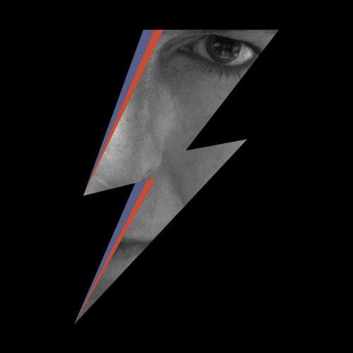 David Bowie Logo Eyes Band T Shirt