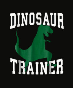 Dinosaur Trainer Halloween T Shirt Costume for Adults Kids