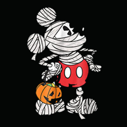 Disney Mickey Mouse Mummy Halloween Tee
