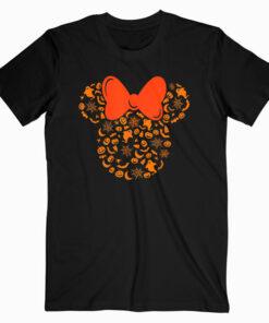 Disney Minnie Mouse Halloween Silhouette Icon T Shirt