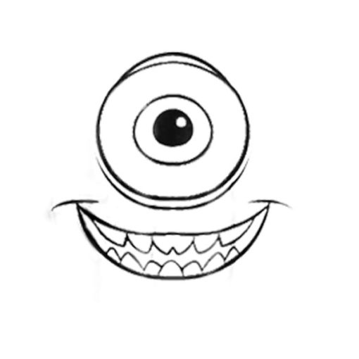 Disney Monsters Inc Mike Wazowski Halloween Graphic T Shirt