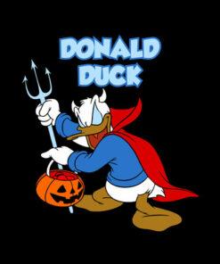 Donald Duck Halloween Zombies Funny T Shirt
