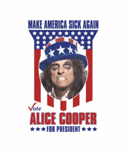 Elected Alice Cooper For President Band T Shirt