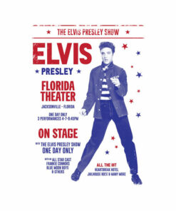 Elvis Presley Poster Band T Shirt