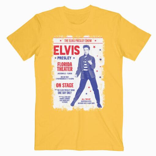 Elvis Presley Poster Band T Shirt