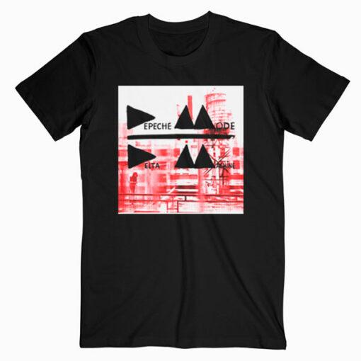 FEA Men's Depeche Mode Band Photo Soft T-Shirt