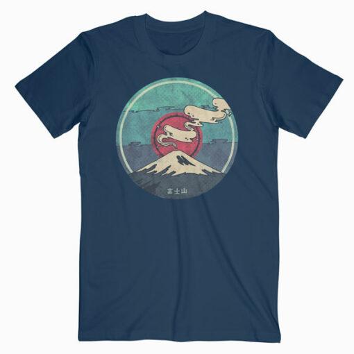 Fuji Mountain Japanese T Shirt