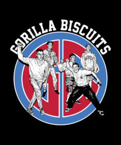Gorilla Biscuits Sitting Around At Home Band T Shirt