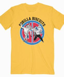 Gorilla Biscuits Sitting Around At Home Band T Shirt