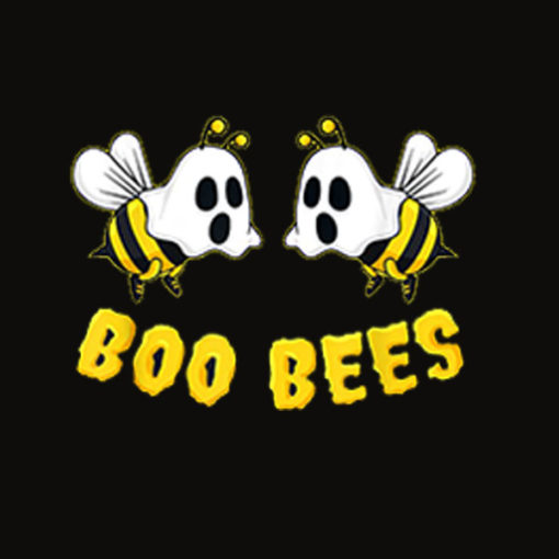 Halloween Boo Bees Ghost Matching Couples Family Funny Gift T Shirt