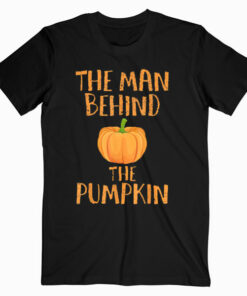 Halloween Pregnancy Man Pumpkin T shirt Funny Party