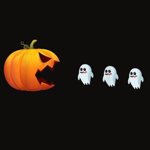 Halloween Pumpkin Ghost Hunter Jackolantern Women Men Funny T Shirt