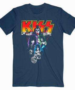 Kiss Neon Band T Shirt