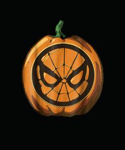Marvel Spider Man Halloween Pumpkin Graphic T Shirt