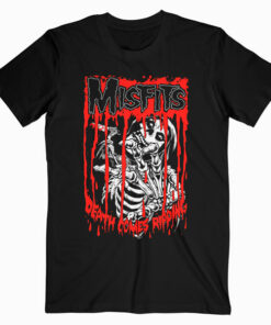 Misfits Death Comes Ripping Band T Shirt