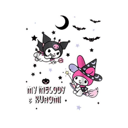My Melody and Kuromi Halloween Tee Shirt