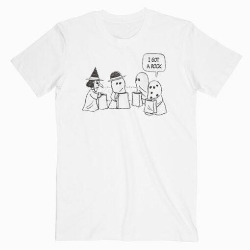 Peanuts Halloween Charlie Brown I got a Rock T Shirt
