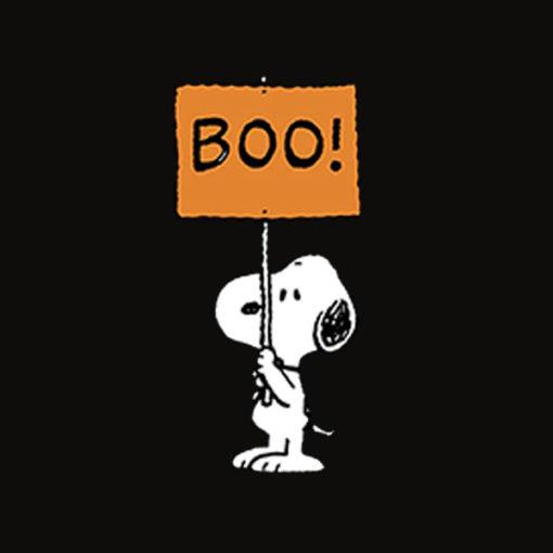 Peanuts Halloween Snoopy Boo T Shirt