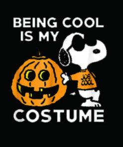 Peanuts Snoopy Cool Halloween Costume T Shirt