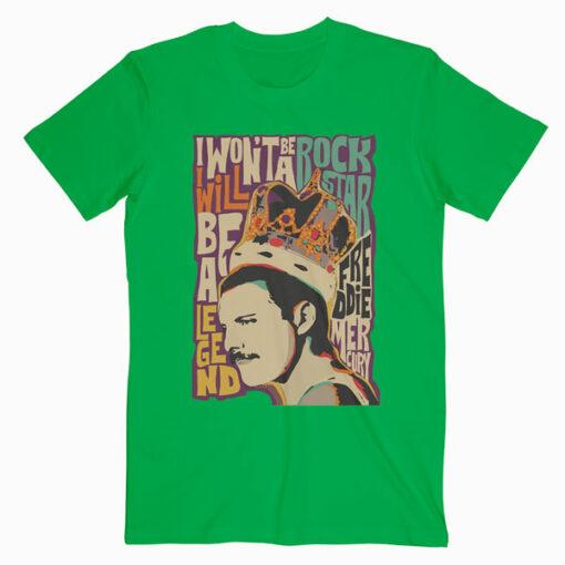 Queen Poster Vintage Freddie Mercury Band T Shirt
