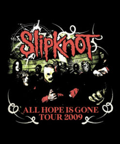 Slipknot All Hope Is Gone Heavy Metal Band T Shirt