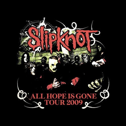 Slipknot All Hope Is Gone Heavy Metal Band T Shirt
