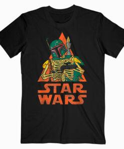 Star Wars Boba Fett Skeleton Halloween Costume T Shirt