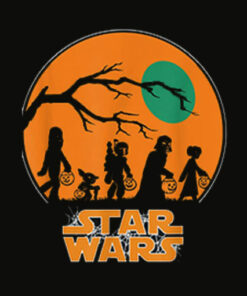 Star Wars Characters Trick Or Treat Halloween T Shirt