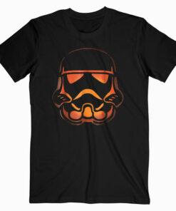 Star Wars Stormtrooper Pumpkin Carving Halloween T Shirt