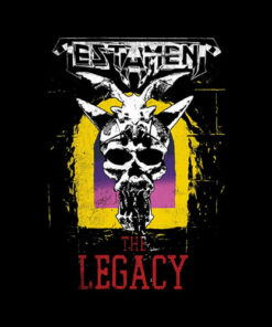 Testament Mens Legacy Band T-Shirt