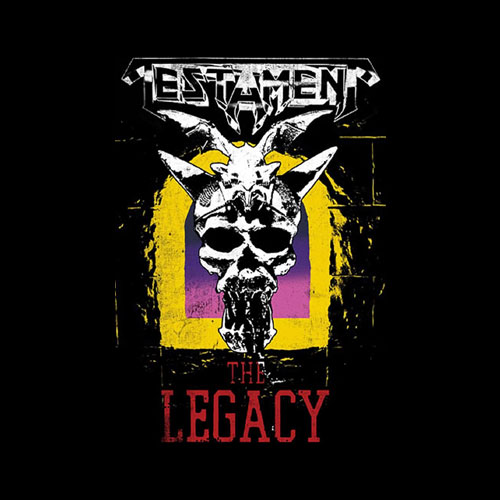 Testament Mens Legacy Band T-Shirt