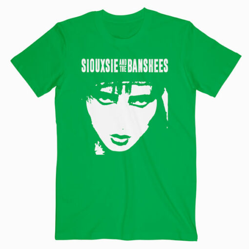 Siouxsie And The Banshees Rock Band Music Group Face Band T Shirt