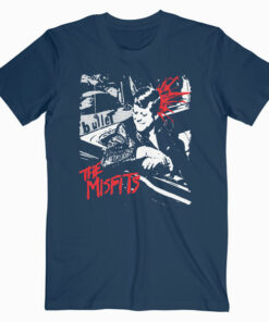 The Misfits Punk Rock Band Music Group Bullet Band T Shirt