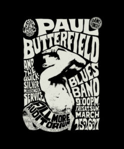 The Paul Butterfield Blues Band T Shirt