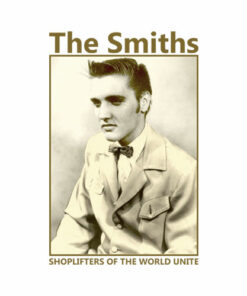 The Smiths 80's Morrissey ELVIS Shoplifter Vintage Band T Shirt
