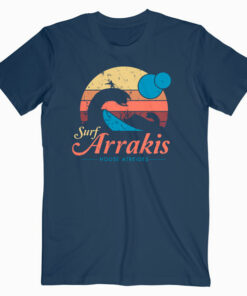Visit Arrakis -Vintage Distressed Surf Dune Sci T Shirt