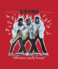 ZZ Top Rock Band Music Group Vintage Style Deguello Faded Logo Adult Band T Shirt