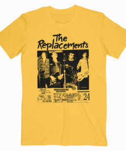 The Replacements Punk Rock Band T Shirt