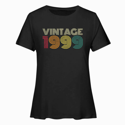 21st Birthday Gift Vintage 1999 Classic Men Women 21 Years T Shirt