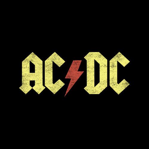 ACDC Vintage Band Shirt Rock T-shirt Rock Band Tee Concert Band T Shirt