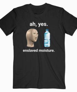 Ah Yes Enslaved Moisture Dank Meme T Shirt